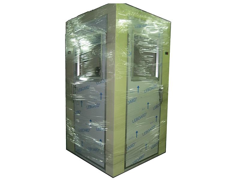 L型浴塵室